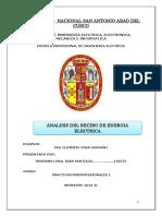 Analisis de Recibo de Luz Informe Presentar