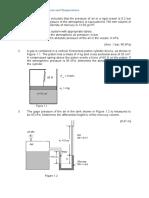 Assignment 1 - Pressure and Temperature