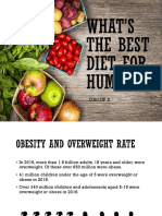 Whats the Best Diet for Humans