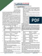 Ibps Rrb Po Mains 2017 Memory Based Paper Reasoning