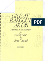 Great Baroque Arias (Voice and guitar, arr. John Gavall) Ed. Ricordi.pdf