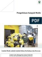 Pengelolaan Sampah Medis