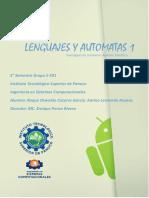 Investigacion Lenguajes y Automatas U6