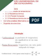 3.1 e 3.2 - Condução unidimensional em regime estacionário.ppt