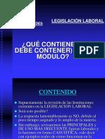 Legislación Laboral en 4 Sesiones