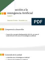 Introducción a La Inteligencia Artificial