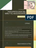Psicopatologia Del Niño y El Adolescente