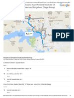 Work (Maulana Azad National Institute of Technology) to Godermou Bungalows (Sagar Group), Gandhi Nagar, Bhopal, Madhya Pradesh 462033 - Google Maps