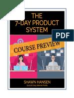 PREVIEW 7DayProductSystem ShawnHansen