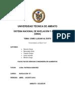 ubv proyecto