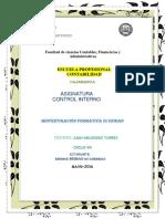 Producción 03 Investigación Formativa III Unidad