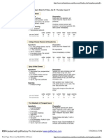 Recipes PDF All