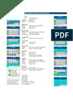HZCIS Calendar 2017-18