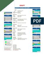 HZCIS Calendar 2018-19 (Draft)