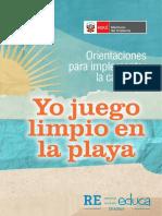 Guia Final Yo Juego Limpio en La Playa