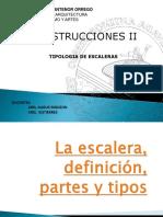 La Escalera, Definición, Partes y Tipos