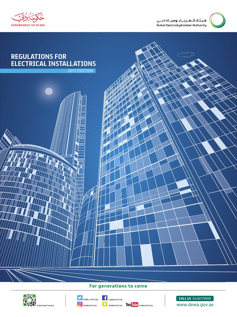 DEWA Regulations for Electrical Installations 2017 Edition ...