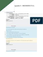 Proyecto Integrador I Examen Parcial Vciclo Ing Sistemas