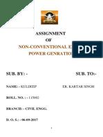 NCEPG  assignment