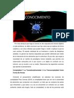 Wiki La Complejidad y La Transdisciplinariedad