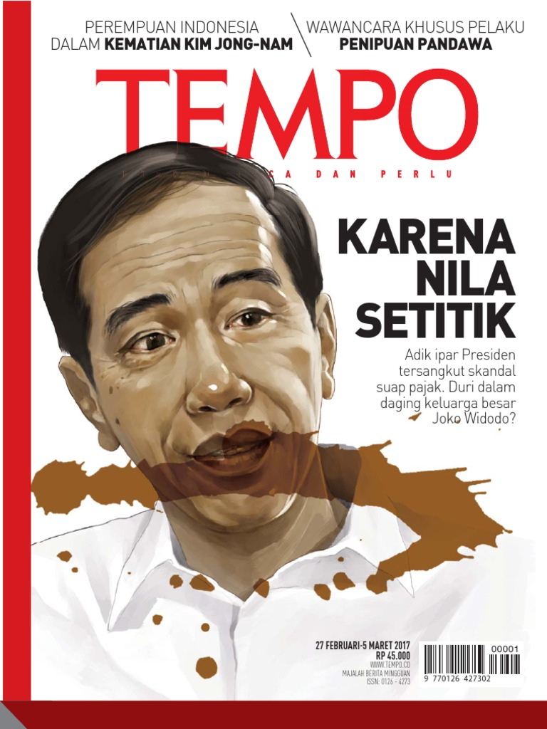 PT Tempo Inti Media Majalah Tempo 27 Februari 5 Maret 2017 Karena