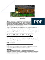Nutrition 4 Baseball
