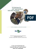 Cnpgl 2014 Cartilha Ordenha Manual Completa
