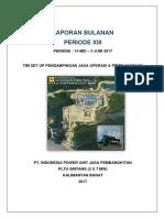 01 Laporan Bulanan Periode XIII.pdf