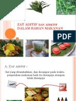 Zat Aditif Dan Adiktif Edit