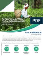 APPL Foundation Progress & Impact Apr - Sep 2017