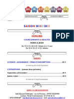 Site Tarifs&Horaires Enf&Ad