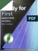 1lockyer Alice Ready for First Teacher s Book Pack