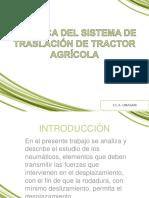 Sistema de Traslacion Del Tractor Agricola