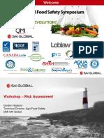 Workshop - Risk Assessment