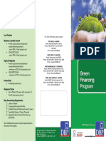 Green Financing Program - DBP
