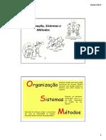 1-Organização Sistemas e Métodos