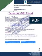 Hyper Text Markup Language Class Ix - Copy