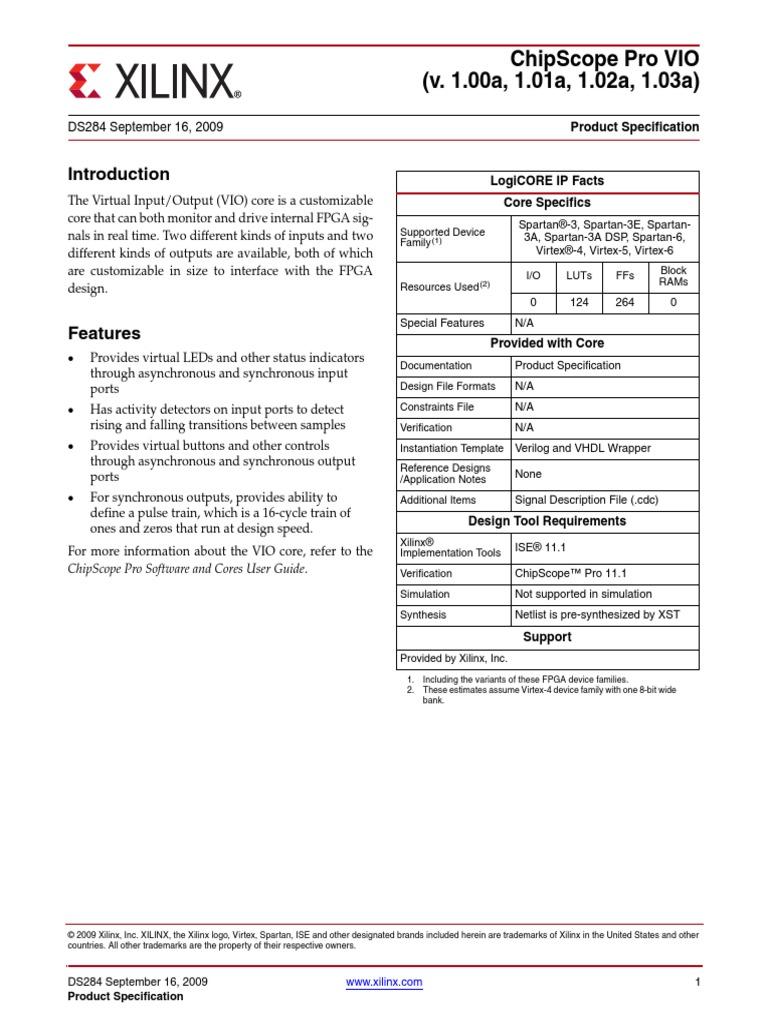 Chipscope Vio | Computer Hardware | Computer Engineering