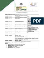 Tentative Programme Schedule 151117