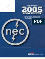 Crouse-Hinds Code Digest 2005-Article 500-516 of the NEC® with product recommendations for use in hazardous (classified) areas.