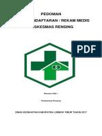Pedoman Pendaftaran Dan Rekam Medis