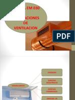 VENTILACION ARQUITECTURA