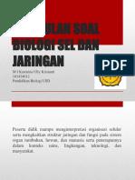 Soal sel dan Jaringan.pdf