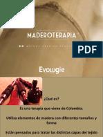 Presentación maderoterapia
