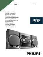 Manual Philips FW M15