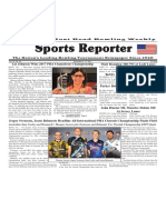 December 6 - 11, 2017  Sports Reporter