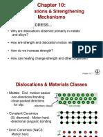 Dislocations & Strengthening Mechanisms