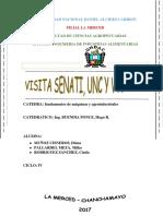 Visita Seneti, Uncp
