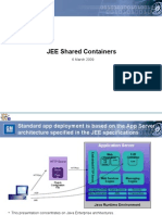 Shared JEE Containers