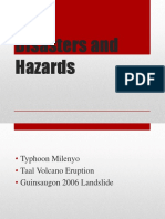 Disasters and Hazards (2)